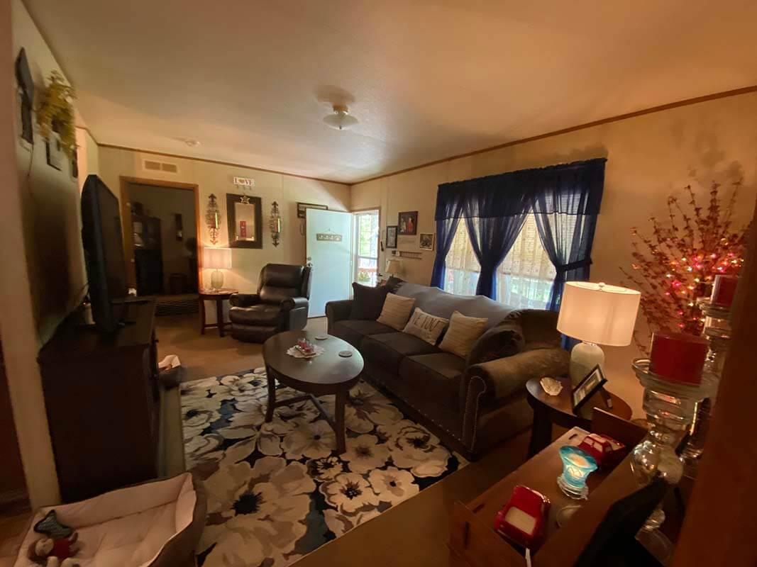 3409 Frisse living room