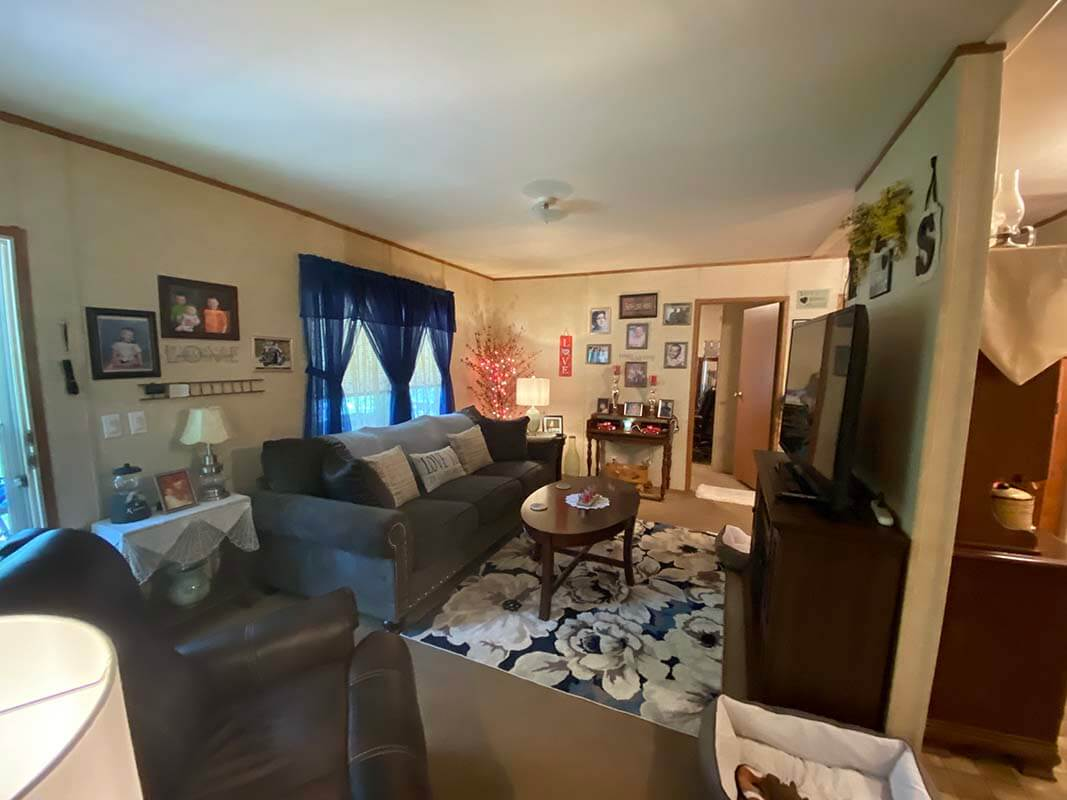 3409 Frisse - living room