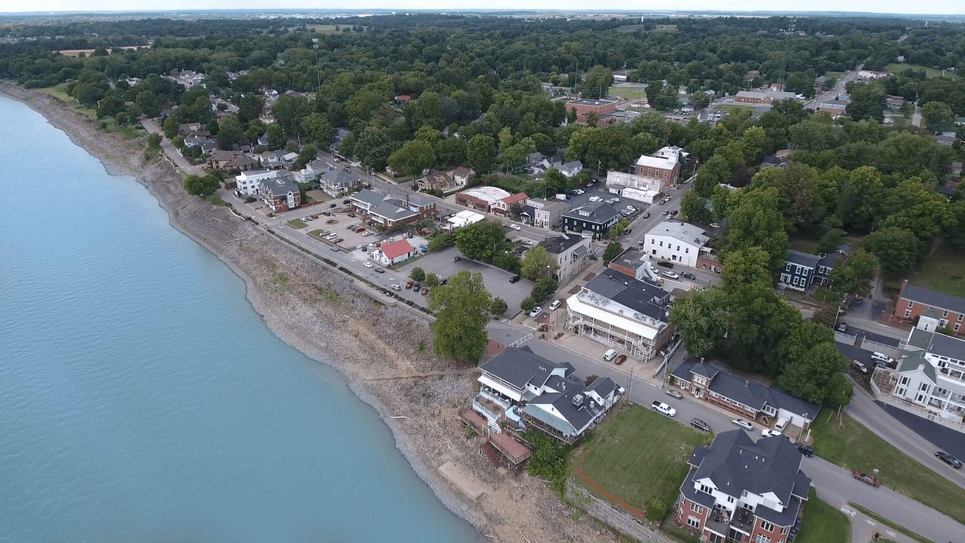 Newburgh aerial view
